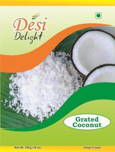 Desi Delight Grated Coconut