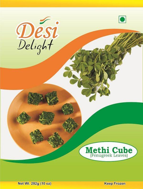 Desi Delight Methi Cubes