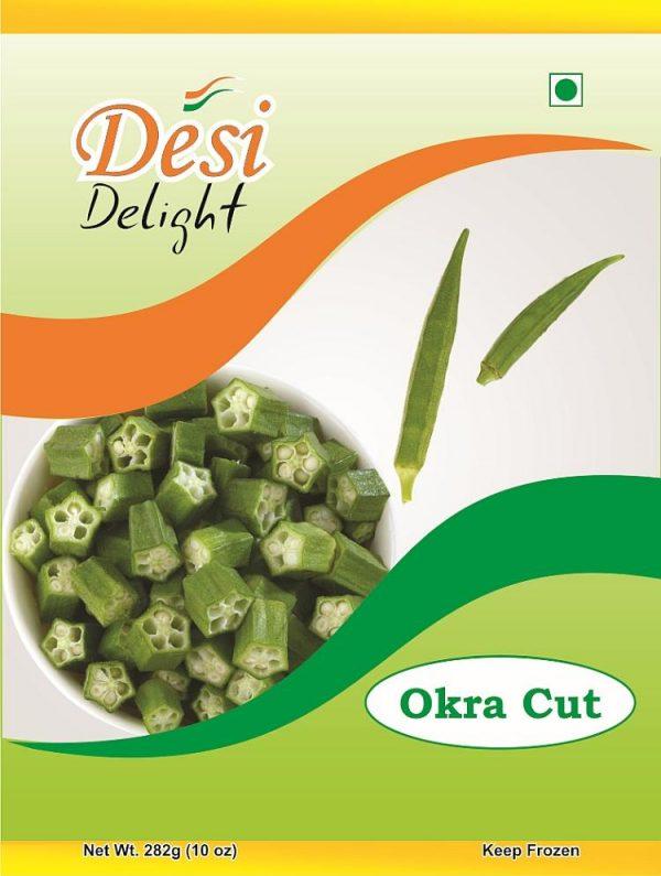 Desi Delight Okra Cut
