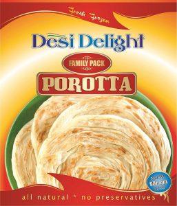 Desi Delight Porotta