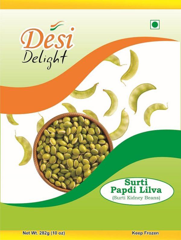 Desi Delight Surti Papdi Lilva