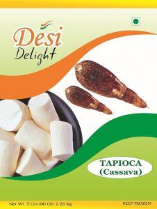 Desi Delight Tapioca Sliced