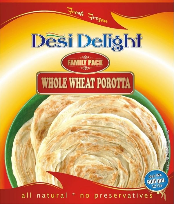 Desi Delight Whole Wheat Porotta